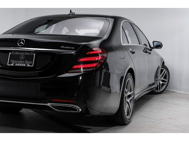 Certified 2018 S 450 4MATIC