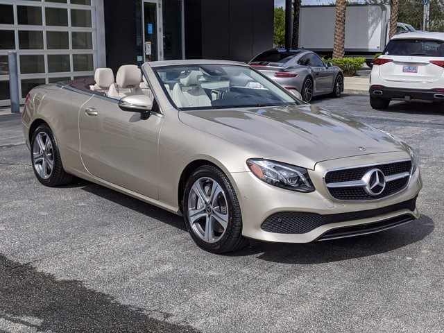 Certified 2018 E 400 4MATIC Cabriolet