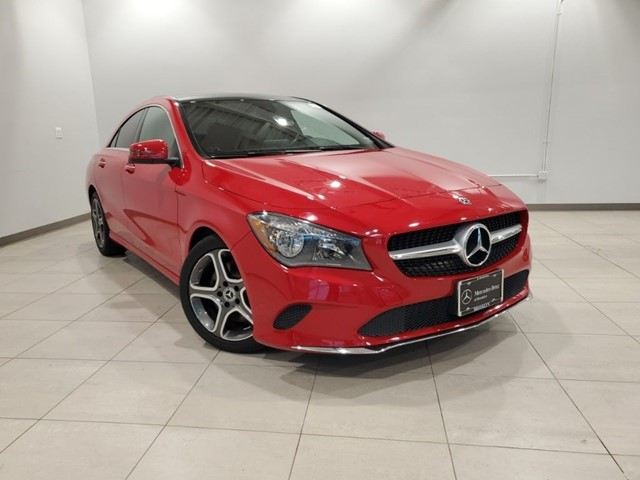 Certified 2018 CLA 250 4MATIC COUPE